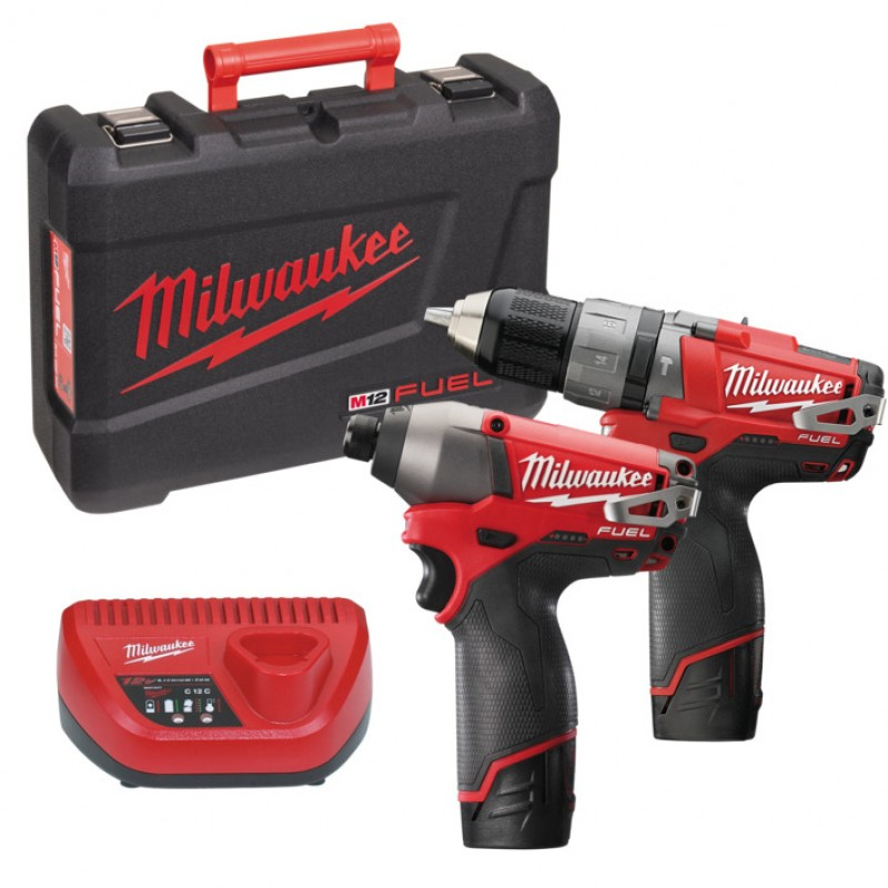 Набор MILWAUKEE M12 PP2A-202C 4933440900