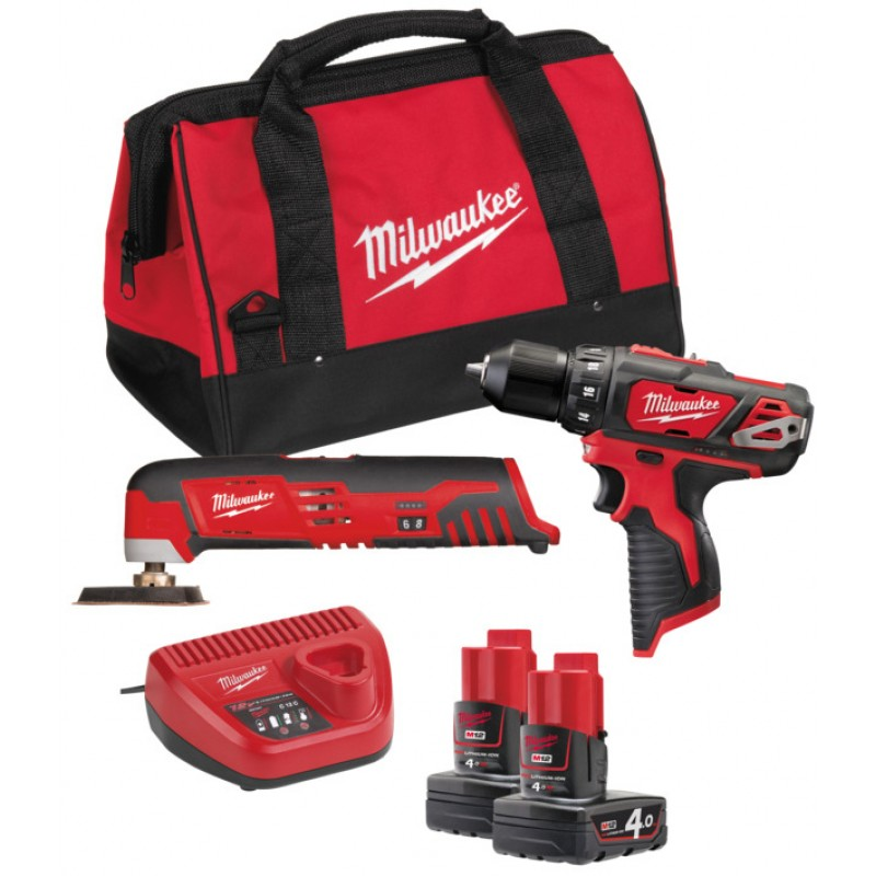 Набор MILWAUKEE M12 ВPP2D-402B 4933441250