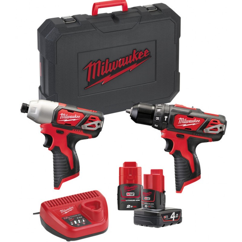 Набор MILWAUKEE M12 ВPP2B-421C 4933443497