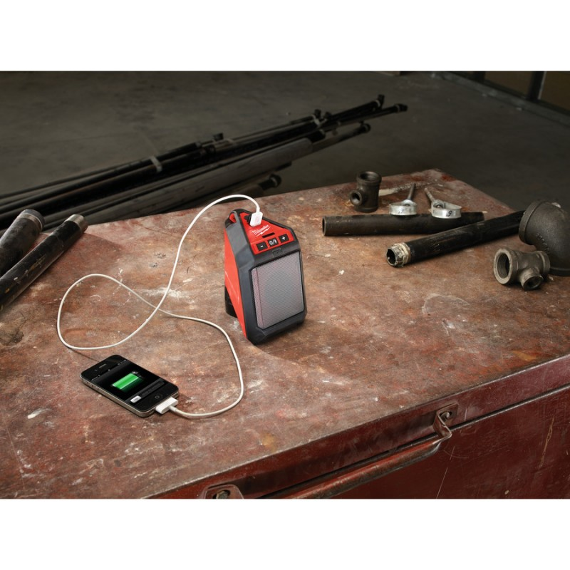 Аккумуляторный динамик беспроводной с Bluetooth®MILWAUKEE M12 JSSP-0 4933448380