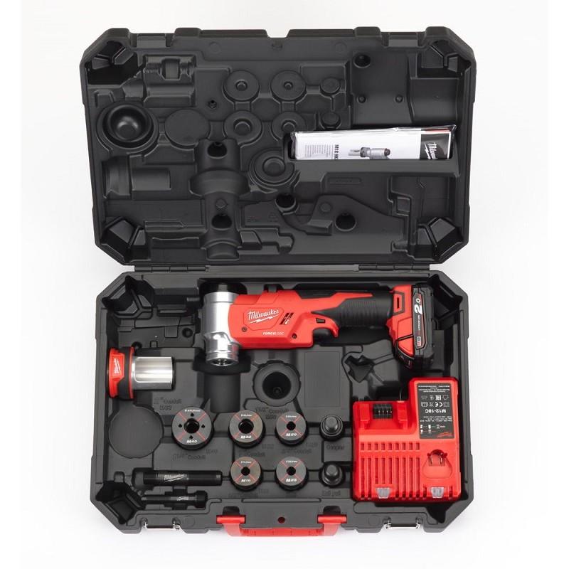 Гидравлический пробойник для отверстий FORCE LOGIC™ MILWAUKEE M18 HKP-201CA 4933451204
