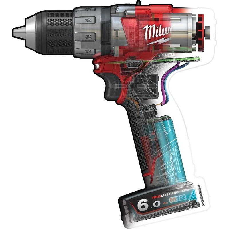 Дрель ударная MILWAUKEE M12 FUEL CPD-602X 4933451509