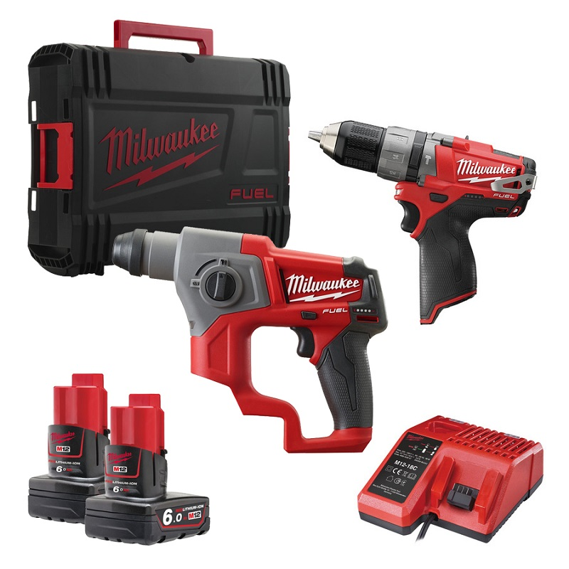 Набор MILWAUKEE M12 CPP2B-602X 4933451513