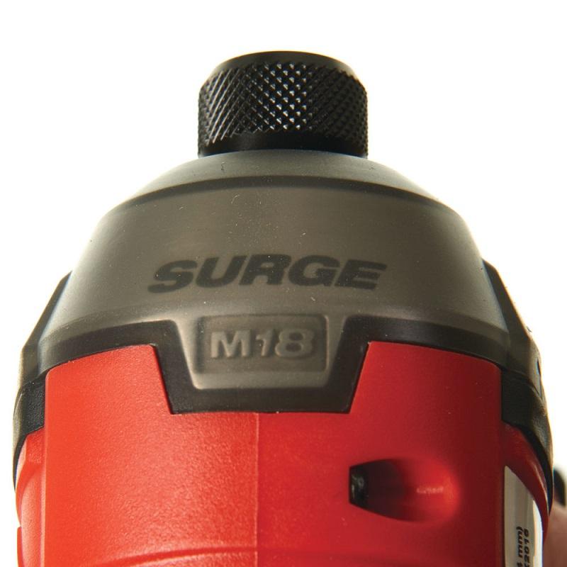 """Импульсный винтоверт MILWAUKEE SURGE™ 1/4"""" Hex M18 FUEL FQID-0X 4933459187"""