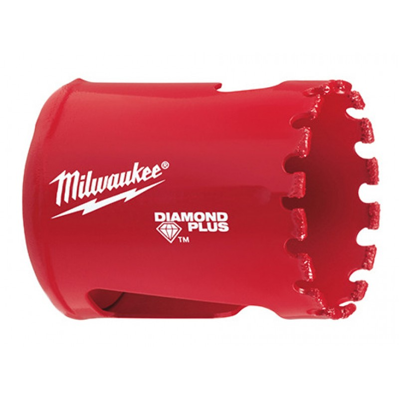 Кopoнка для aлмaзного сверления Diamond Plus™ 38 мм MILWAUKEE 49565630