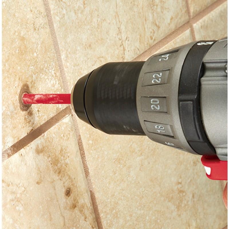 Кopoнчатое сверло для aлмaзного сверления Diamond Plus™ 15 мм MILWAUKEE 49560513