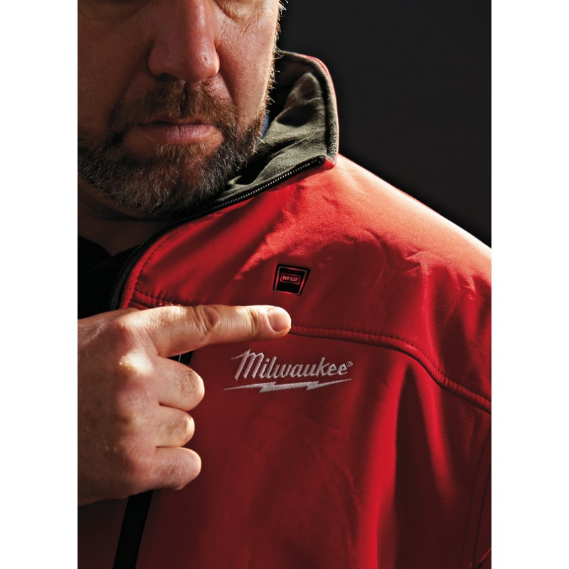 Куртка с электроподогревом MILWAUKEE M12 HJRED2-0 (XL) красная 4933443823