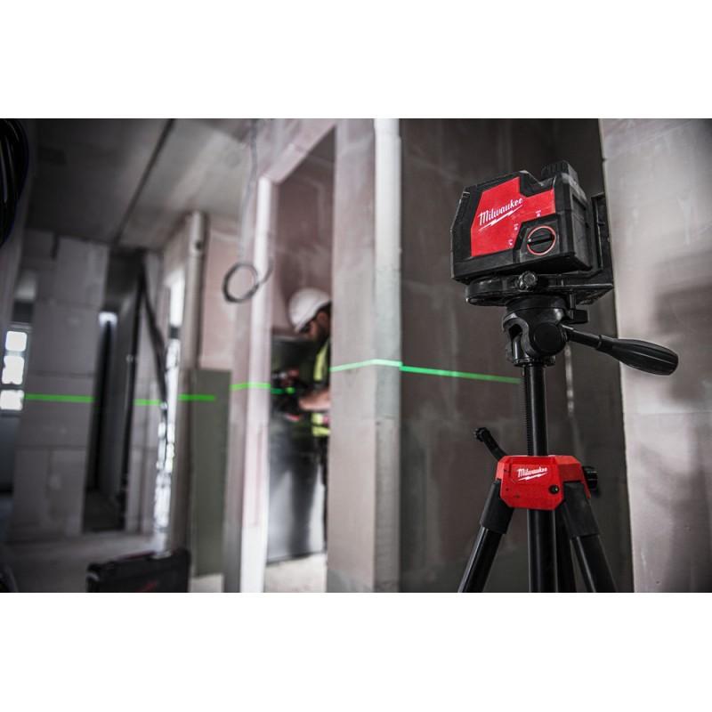 Линейный лазерный нивелир с зеленым лучом заряжается через USB L4 CLL 4933478098