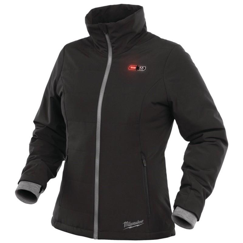 Куртка с электроподогревом женская MILWAUKEE M12 HJ LADIES-0 (2XL) черная 4933451605