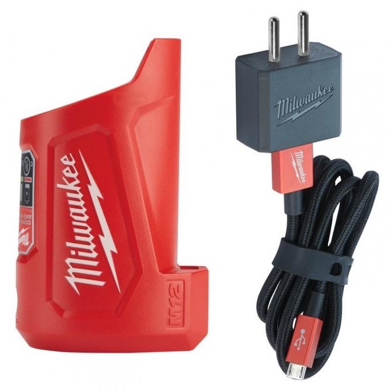 Зарядное USB-устройство компактное MILWAUKEE M12TC 4932459450