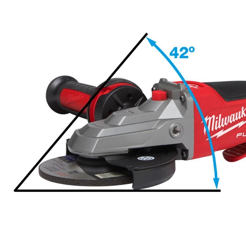 Углошлифовальная машина с плоским редуктором MILWAUKEE 125 мм M18 FSAGF125XPDB-0X 4933478439