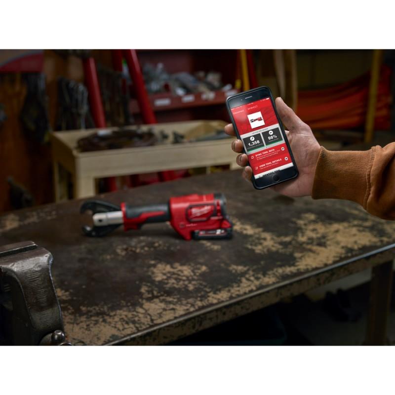 Аккумуляторный гидравлический инструмент для обжима кабеля FORCE LOGIC™ MILWAUKEE M18™ HCCT-201C 4933451194