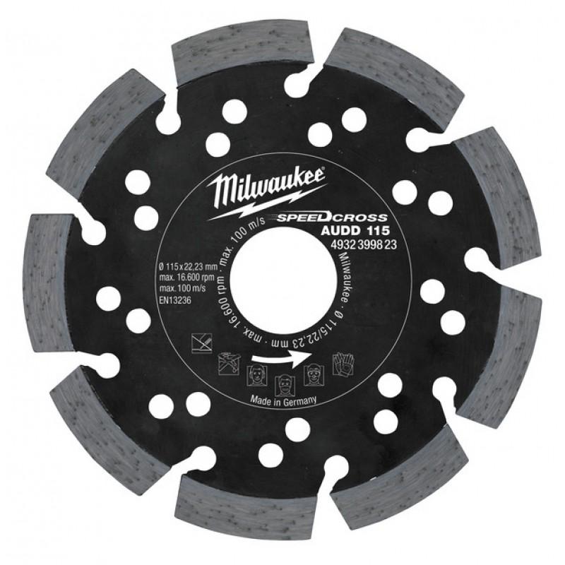 Алмазный диск AUDD 115 мм MILWAUKEE 4932399823