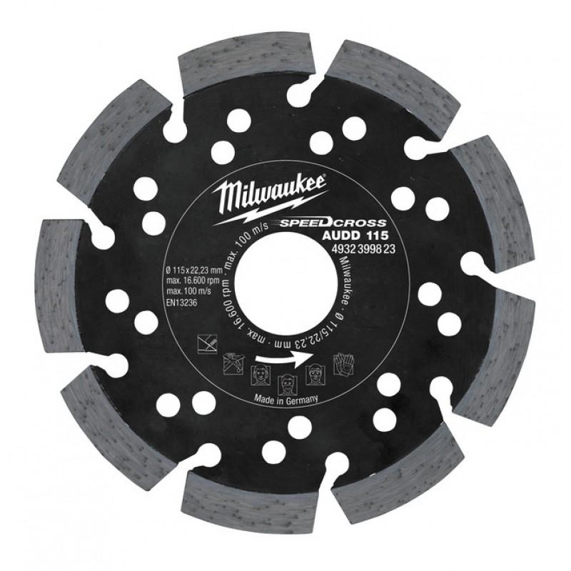 Алмазный диск AUDD 125 мм MILWAUKEE 4932399824