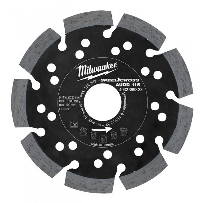 Алмазный диск AUDD 230 мм  MILWAUKEE 4932399826
