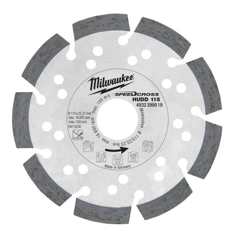 Алмазный диск HUDD 125 мм  MILWAUKEE 4932399820