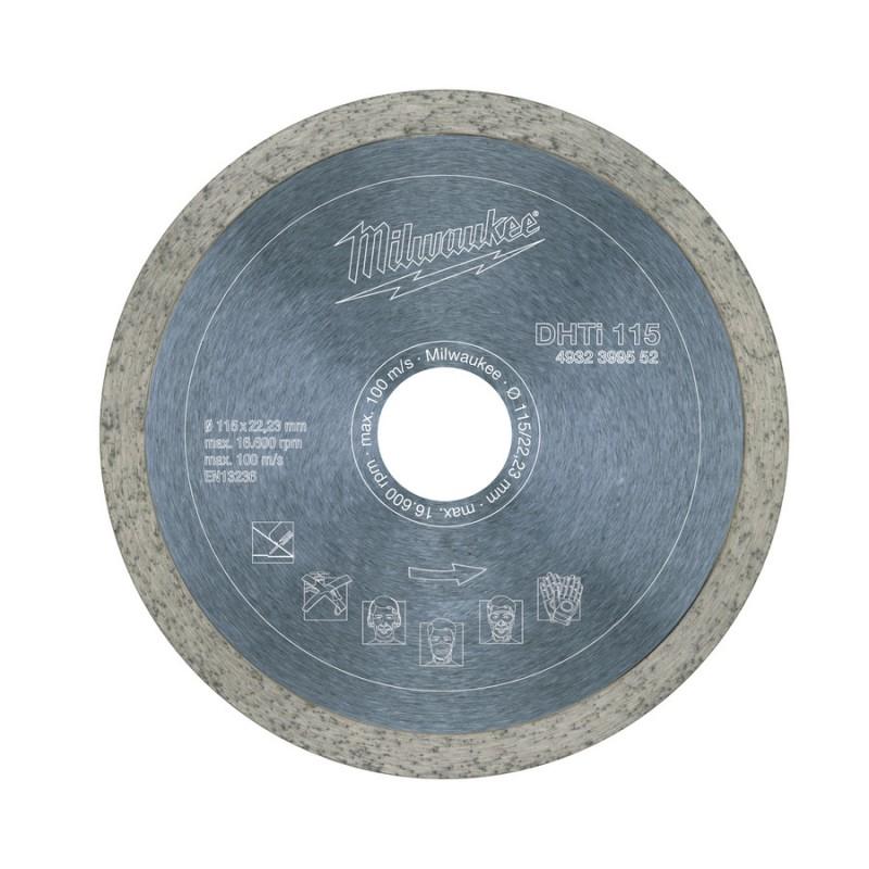 Алмазный диск профессиональная серия DHTi 115 мм MILWAUKEE 4932399552
