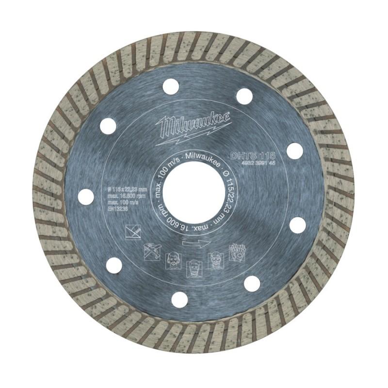Алмазный диск профессиональная серия DHTS 115 мм MILWAUKEE 4932399145