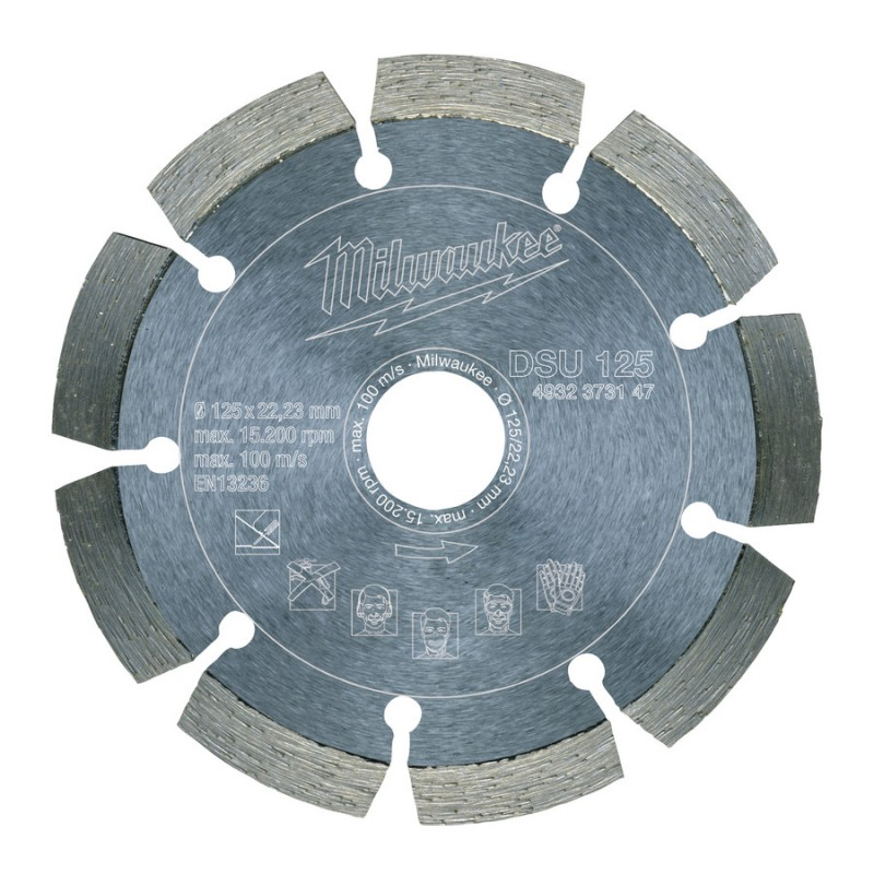 Алмазный диск профессиональная серия DSU 150 мм MILWAUKEE 4932373148