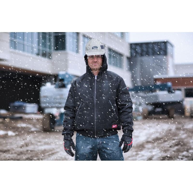 Куртка с капюшоном MILWAUKEE WGJHBL (2XL) черная 4933459439