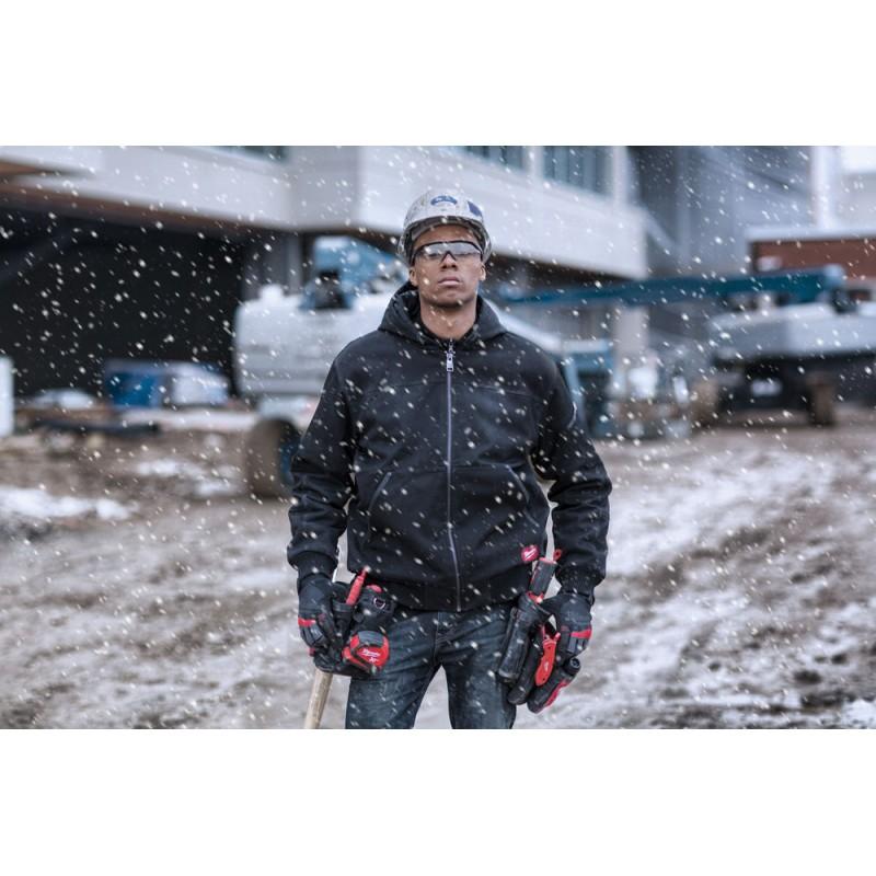 Куртка с капюшоном MILWAUKEE WGJHBL (S) черная 4933459435