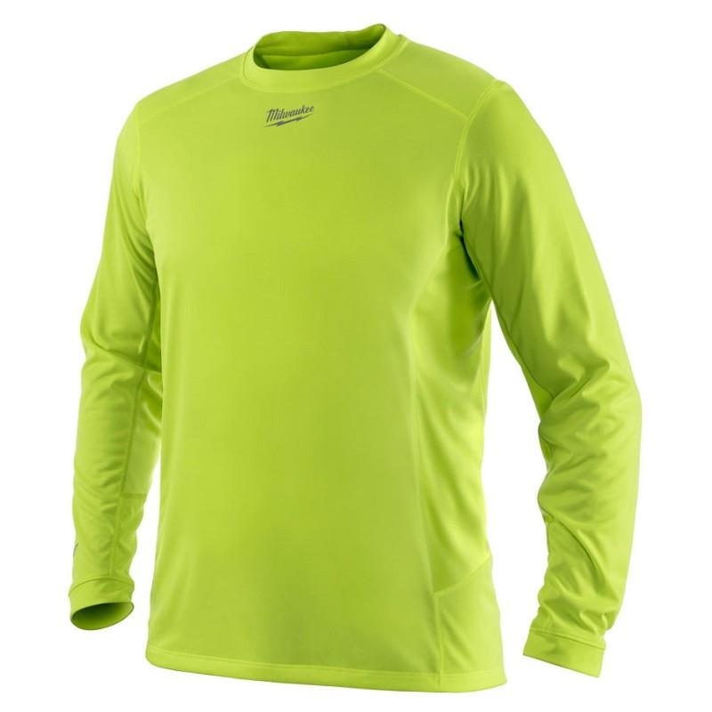 Футболка с длинным рукавом MILWAUKEE WORKSKIN™ WWLSY (2XL) желтая 4933464201