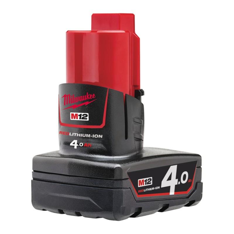 Аккумулятор MILWAUKEE M12 B4 4 Ач 4932430065