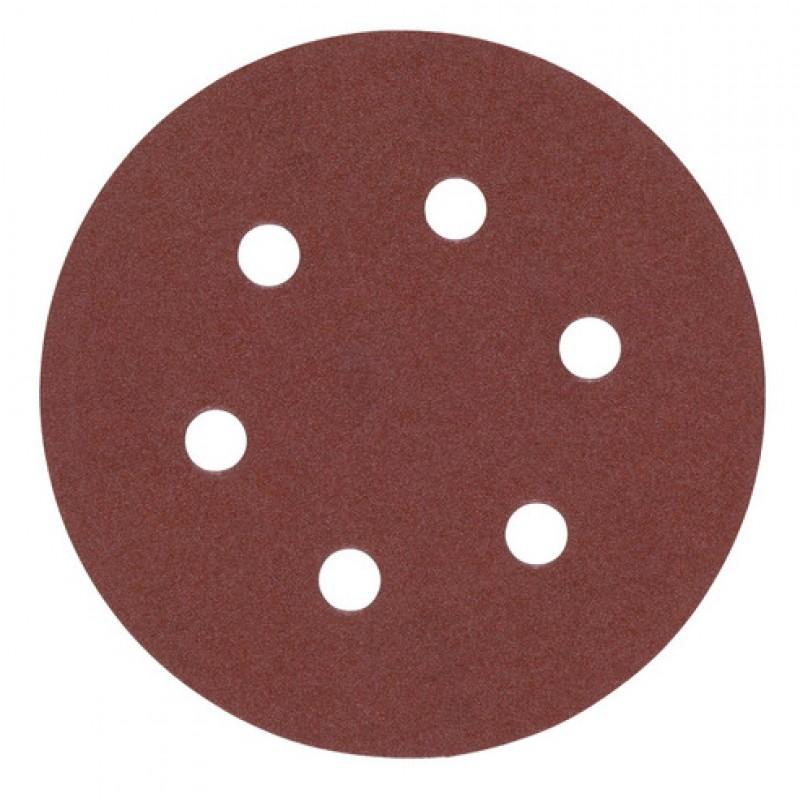 Шлифовальная бумага MILWAUKEE Ø 150 мм зерно 80 5 шт 4932371592