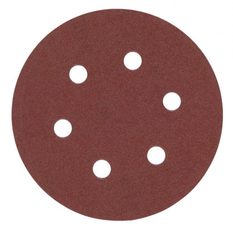 Шлифовальная бумага MILWAUKEE Ø 150 мм зерно 120 5 шт 4932371593