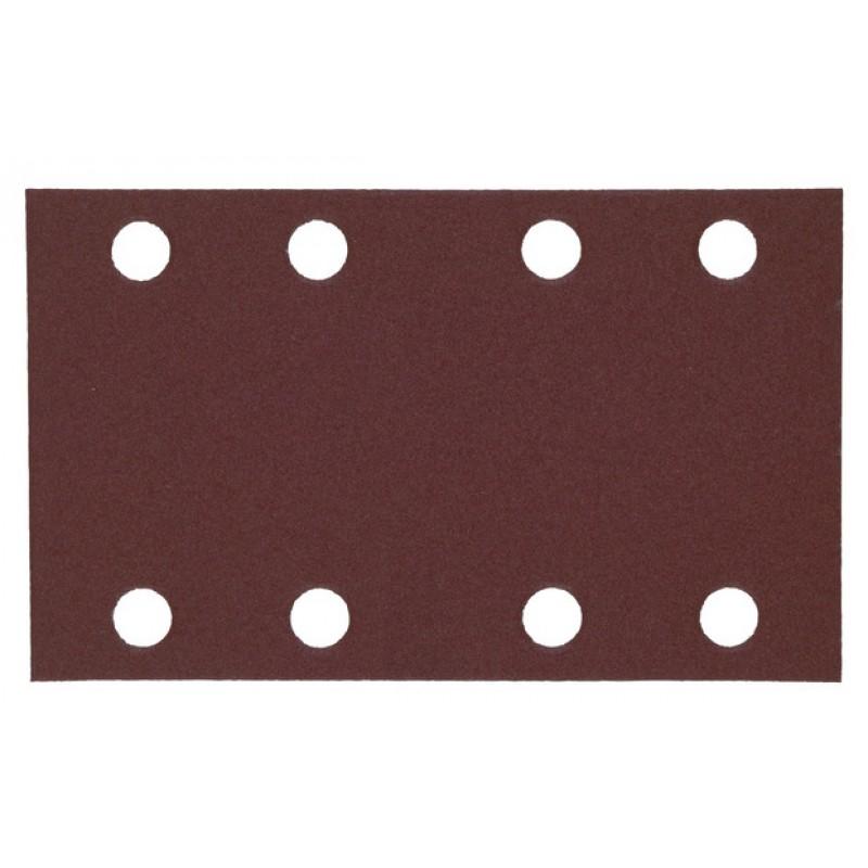 Шлифовальная бумага MILWAUKEE для орбитальных шлифмашин 80х133 мм зерно 120 10 шт 4932351668