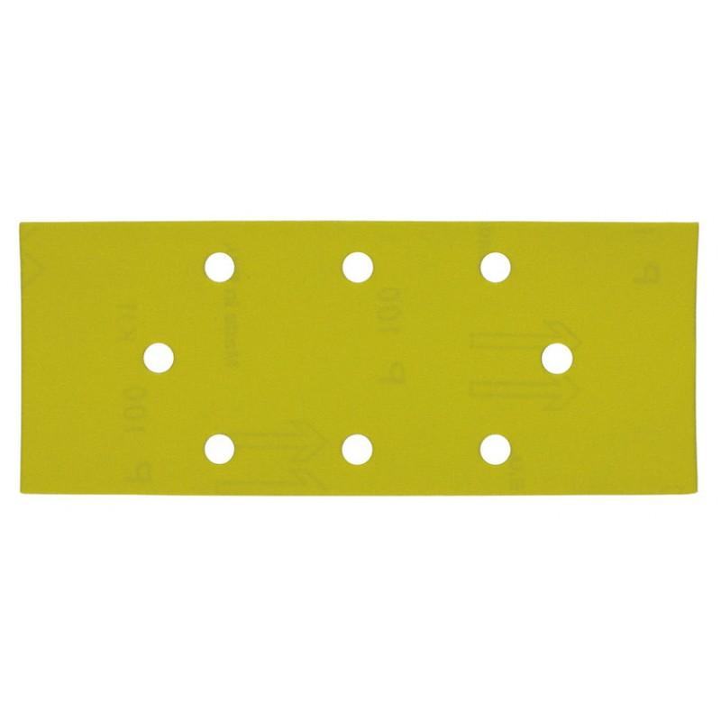 Шлифовальная бумага MILWAUKEE крепление зажимами 93х230 мм зерно 100 10 шт 4932305178