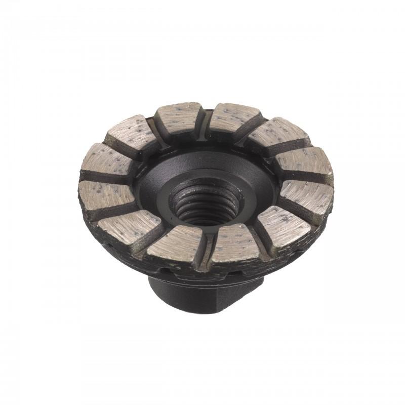 Алмазная шлифовальная чашка М14 50мм (1 шт)
