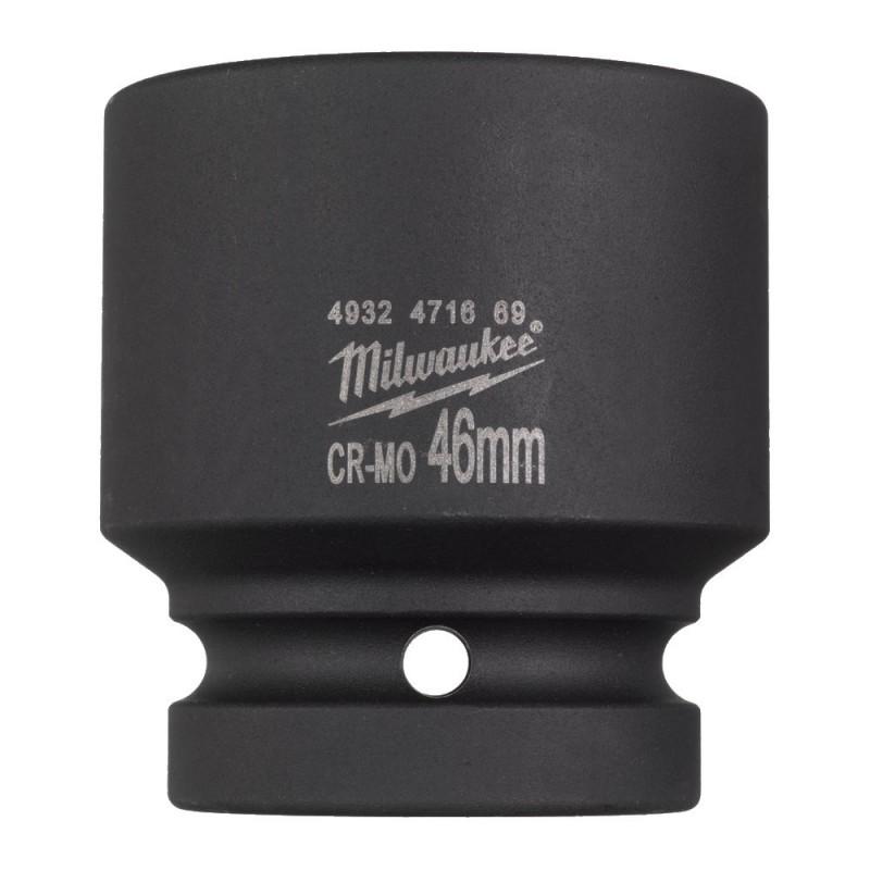 Головка ударная удлиненная ShW 1″, диаметр 46 мм MILWAUKEE 4932471669