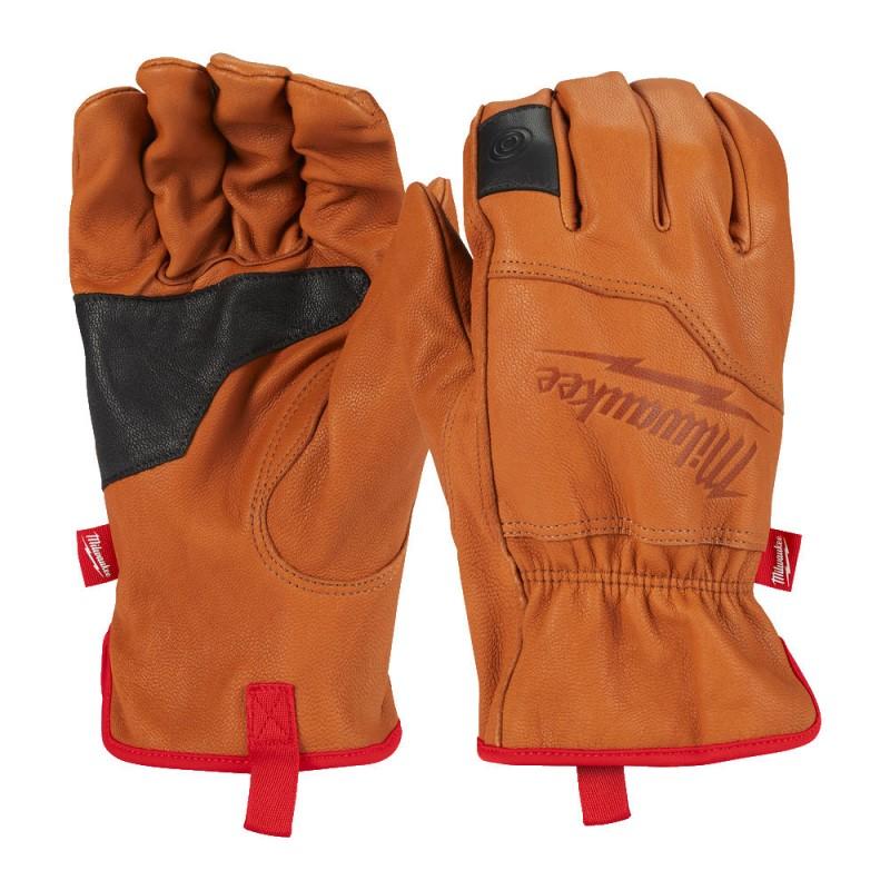 Перчатки кожаные  MILWAUKEE 8/M 4932478123