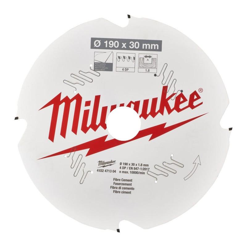 Диск для циркулярной пилы CSB P FC 190 x 30 x 1,8 x 4D MILWAUKEE 4932471304