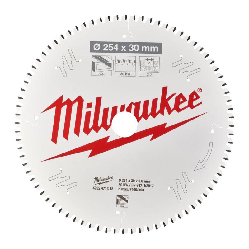 Диск для торцовочной пилы CSB MS W 254x30x3,0x80 TF MILWAUKEE 4932471318
