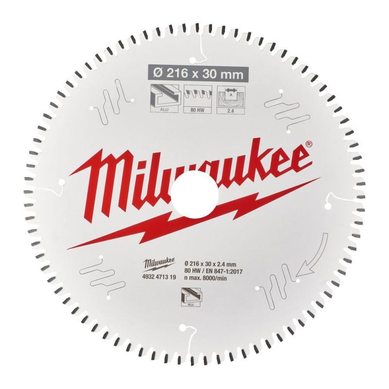 Диск для торцовочной пилы CSB MS W 216x30x2,4x80 TF MILWAUKEE 4932471319