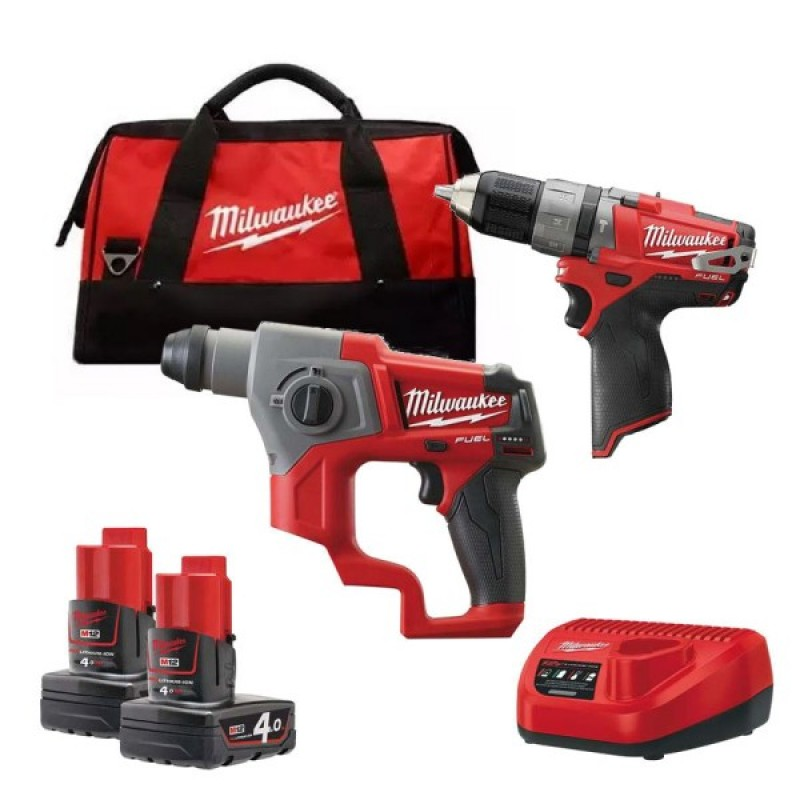 Набор MILWAUKEE M12 CPP2B-402C 4933447479