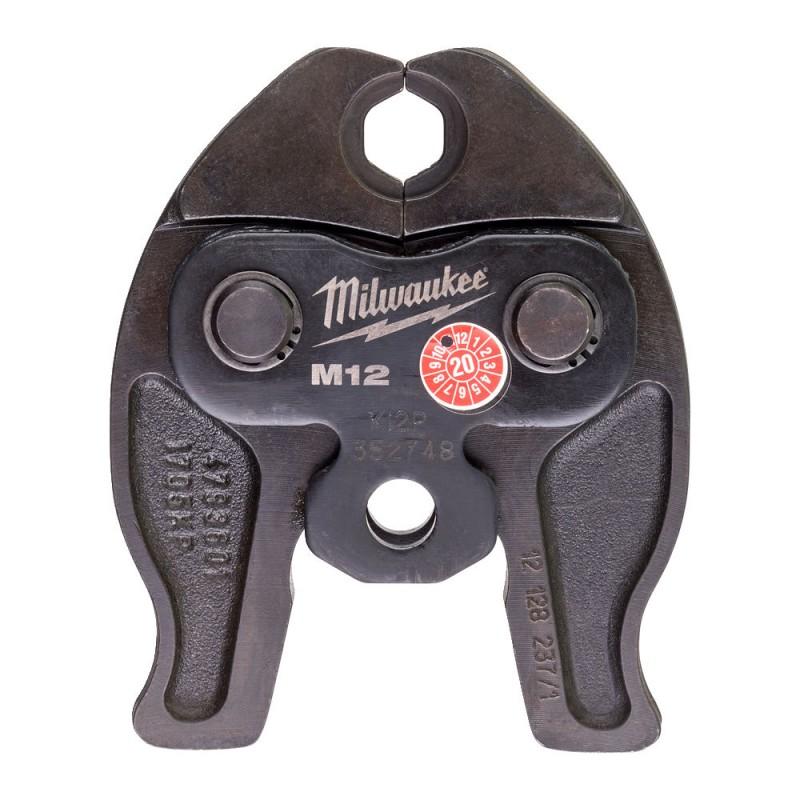 Сменные тиски J12-M12 для обжима труб MILWAUKEE 4932430243
