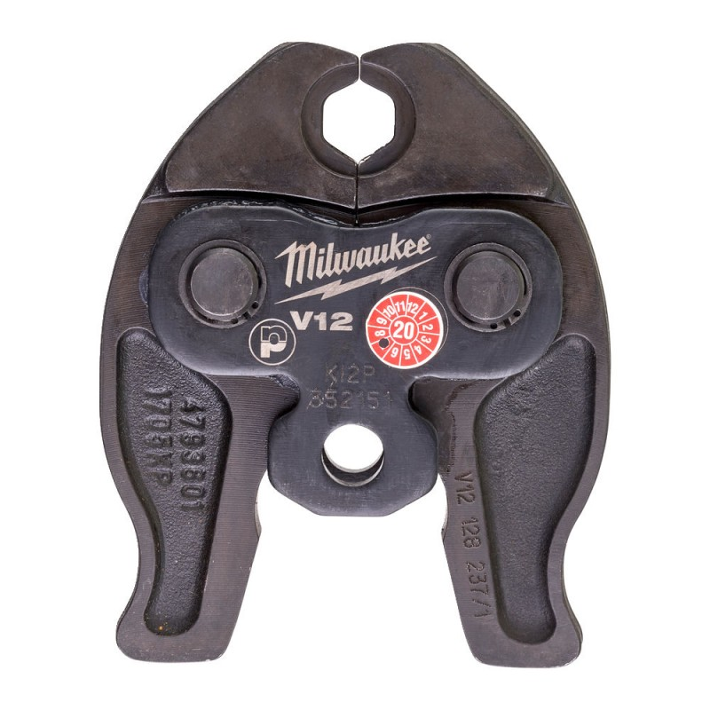 Сменные тиски J12-V12 для обжима труб MILWAUKEE 4932430260
