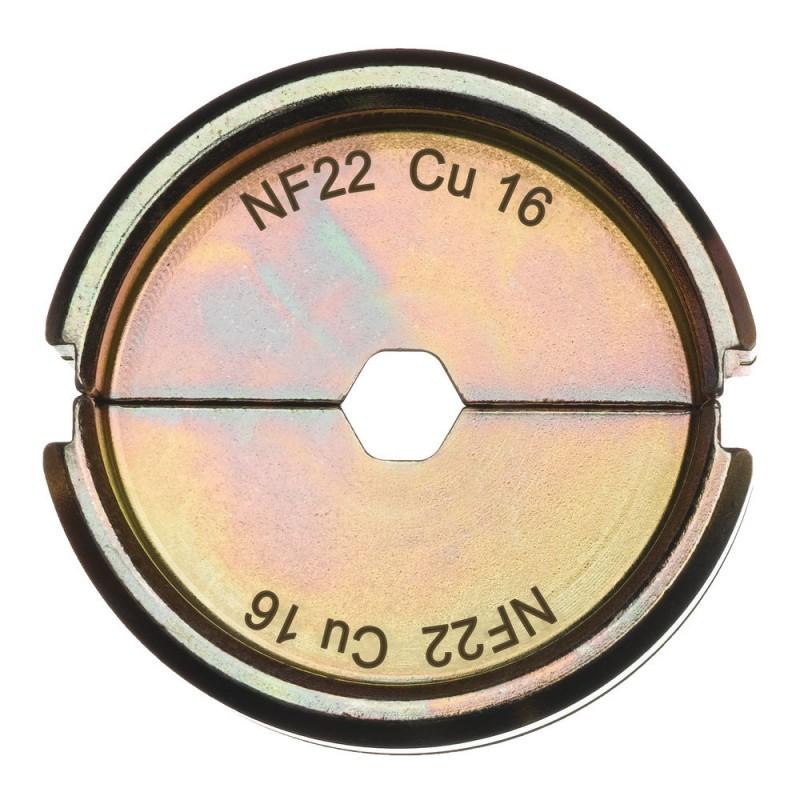 Матрица для обжимного инструмента MILWAUKEE NF22 Cu 16 4932451733
