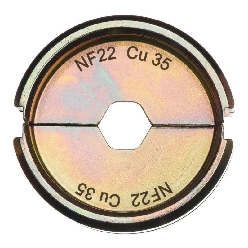 Матрица для обжимного инструмента MILWAUKEE NF22 Cu 35 4932451735