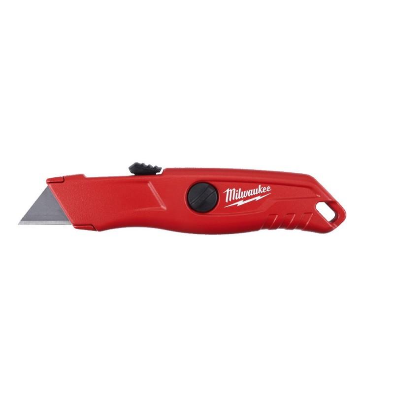Нож самовозвращающийся безопастный MILWAUKEE 4932471360