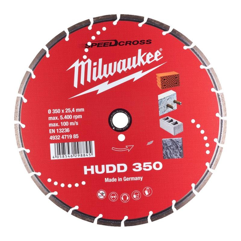 Алмазный диск SPEEDCROSS HUDD350 мм  MILWAUKEE 4932471985