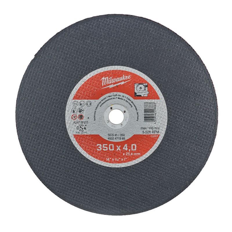 Отрезной круг по металлу 355х4,0 мм SCS41 MILWAUKEE 4932471989