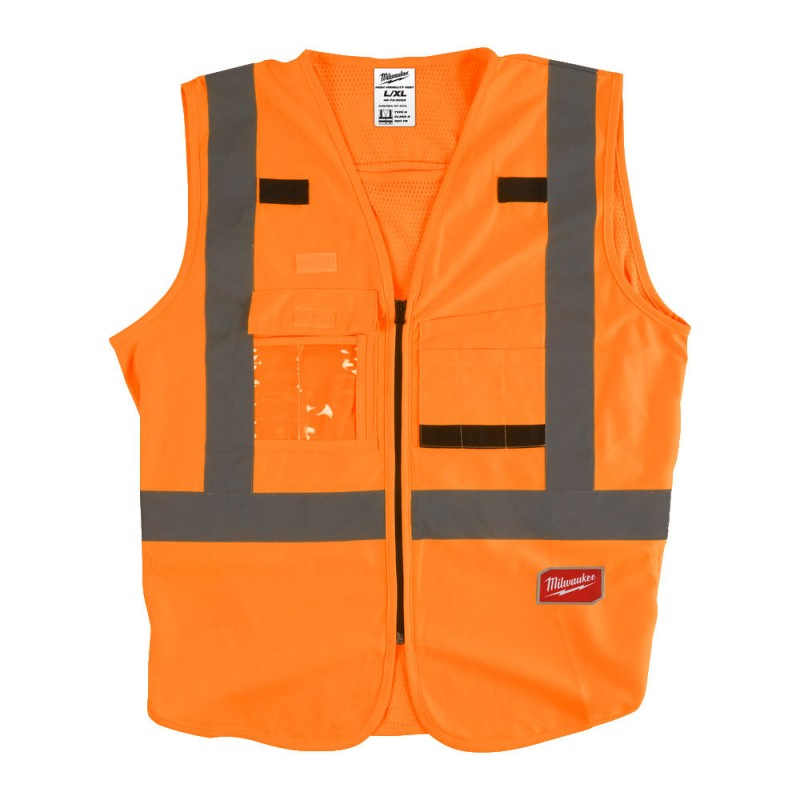 Жилет сигнальный оранжевый Milwaukee L/XL4932471893