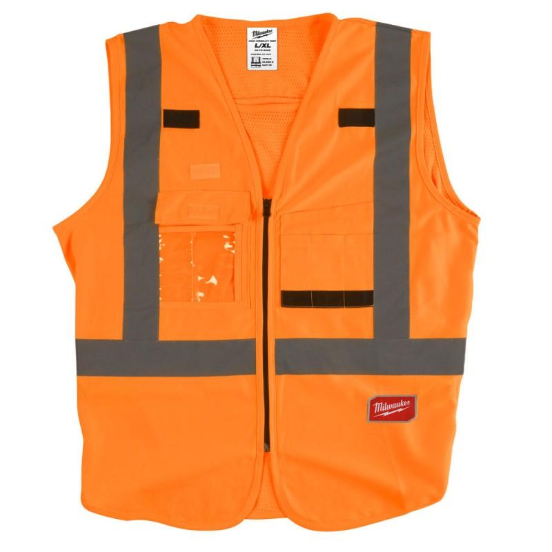 Жилет сигнальный оранжевый Milwaukee 2XL/3XL 4932471894