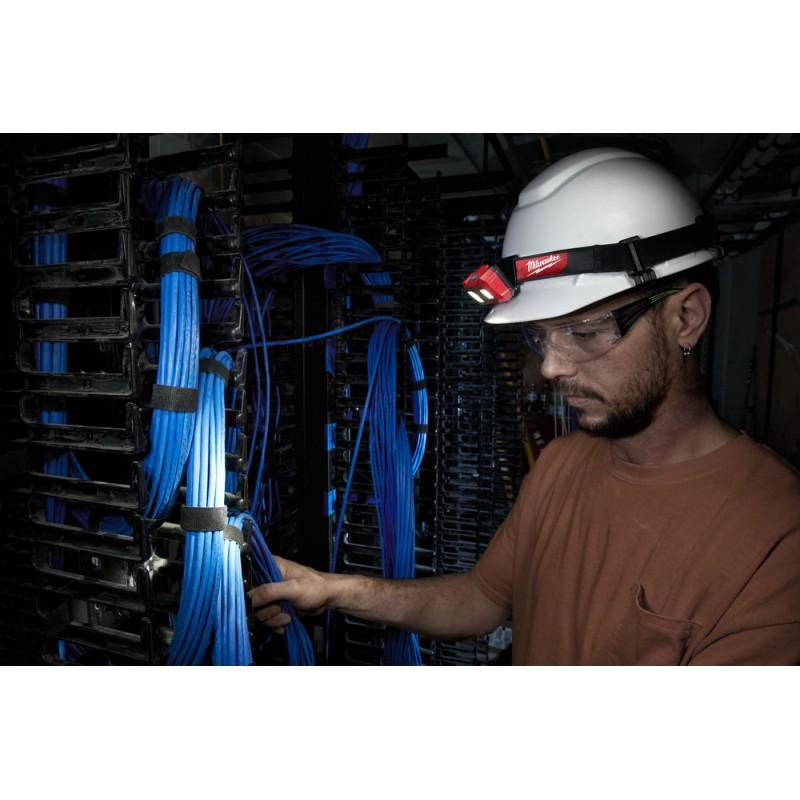 Налобный фонарь на батарейках MILWAUKEE HL-SF 4933471388