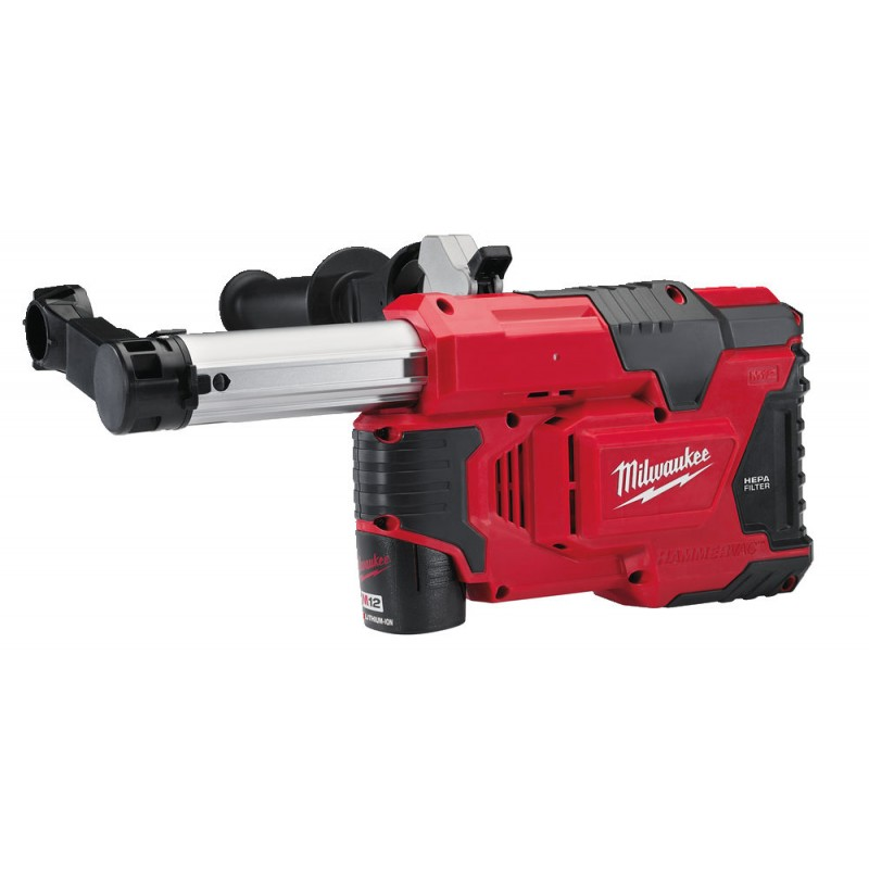 Система пылеудаления   MILWAUKEE M12 DE-151C для перфораторов 4933443202