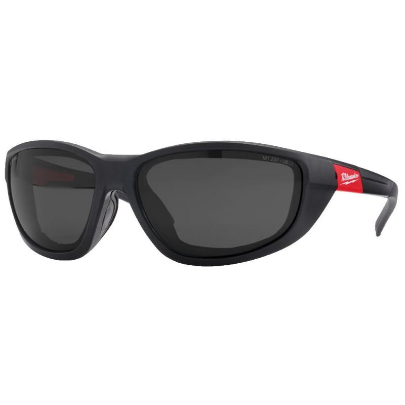 Очки с повышенной защитой затемненные MILWAUKEE 4932471886